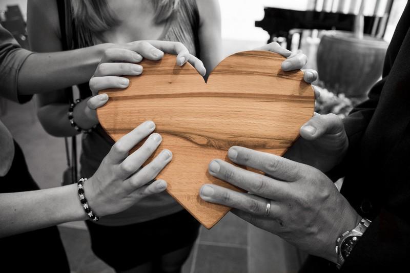 Productieve kritiek - houten hart